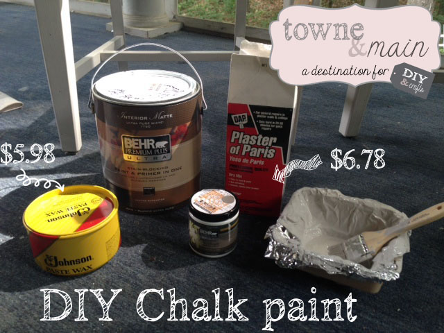 Chalk supplies copy
